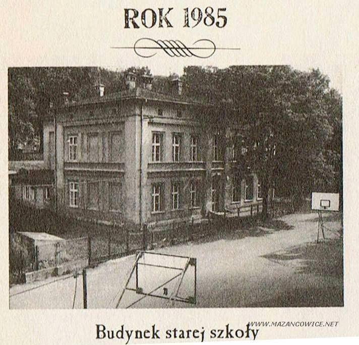 Szkoła w roku 1985